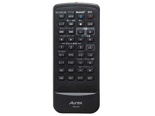 『リモコン』 Aurex TY-AK2 の製品画像