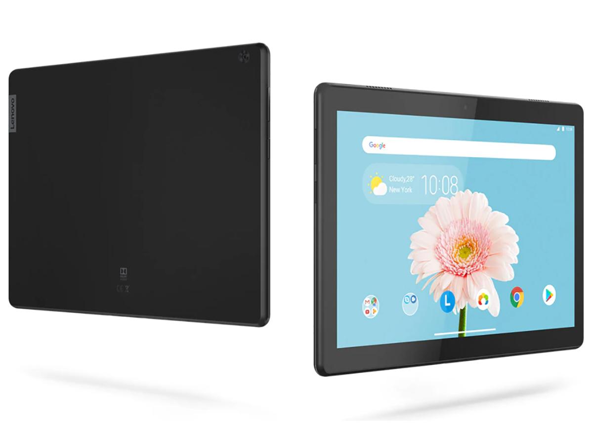 『本体 正面 背面』 Lenovo Tab B10 Qualcomm Snapdragon 429・2GBメモリー・16GBフラッシュメモリー搭載 ZA4G0160JP の製品画像