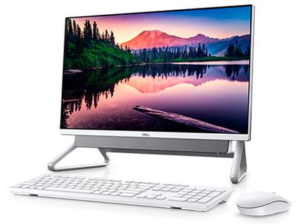 Inspiron 24 5000 フレームレスデスクトップ プラチナ Core i7 1165G7・8GBメモリ・512GB SSD+1TB HDD搭載・Office Personal 2019付・A-Frameスタンドモデル