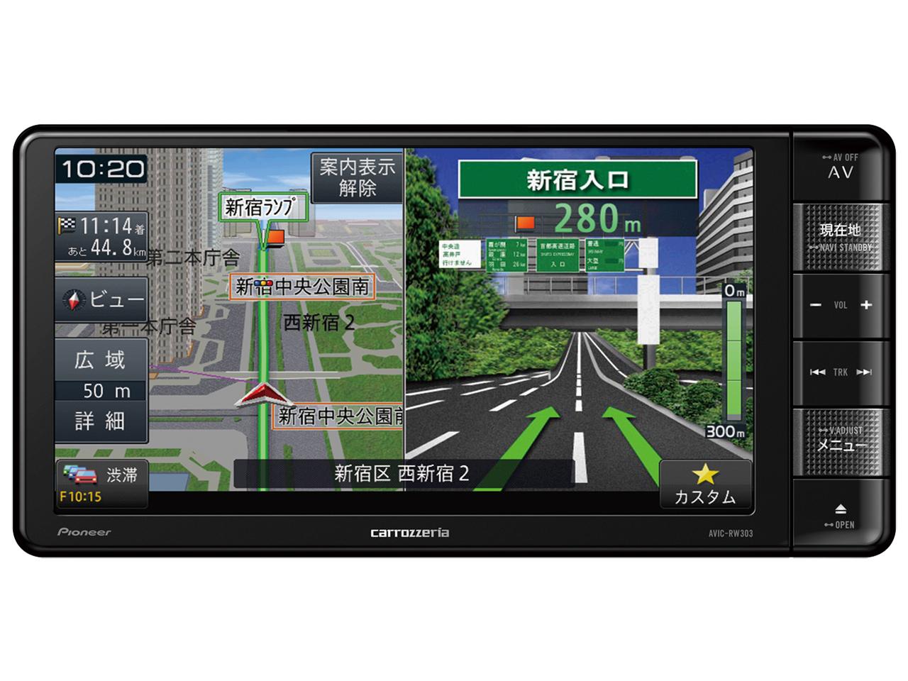 楽ナビ AVIC-RW303II