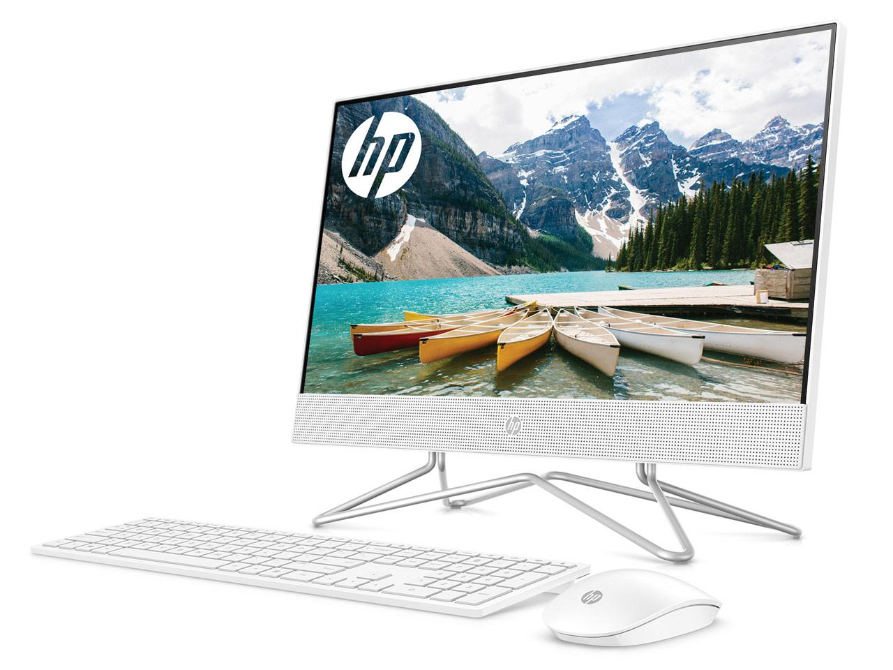 HP All-in-One 22 価格.com限定 Pentium J5040/128GB SSD+1TB HDD/8GBメモリ/DVDドライブ/21.5インチIPSフルHD非光沢/タッチ搭載モデル