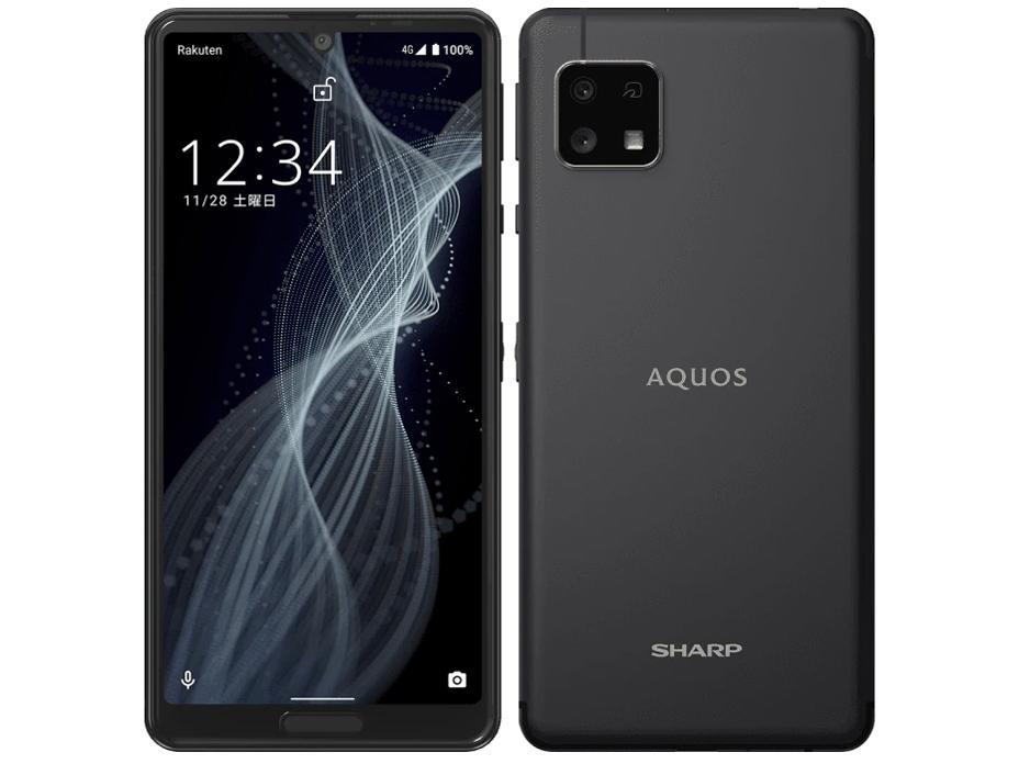 AQUOS sense4 lite 楽天モバイル [ブラック] の製品画像