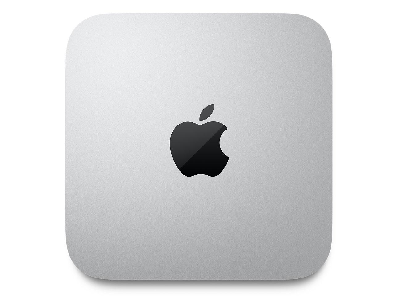 『本体 上面』 Mac mini MGNR3J/A [シルバー] の製品画像