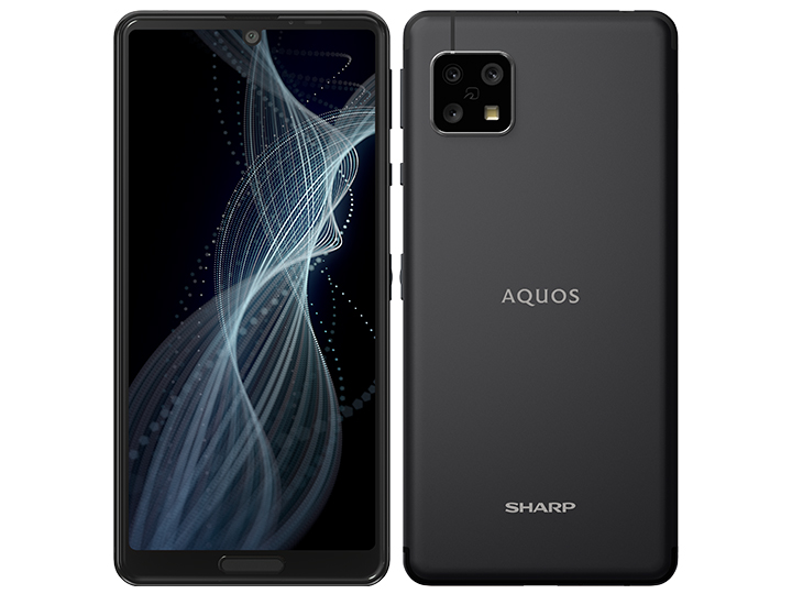AQUOS sense4 SH-M15 SIMフリー [ブラック] の製品画像