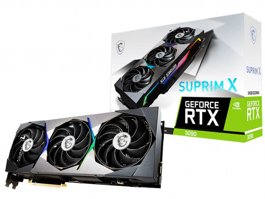 GeForce RTX 3090 SUPRIM X 24G [PCIExp 24GB]