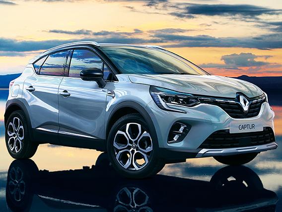 ルノー キャプチャー 2021年モデル 新車画像