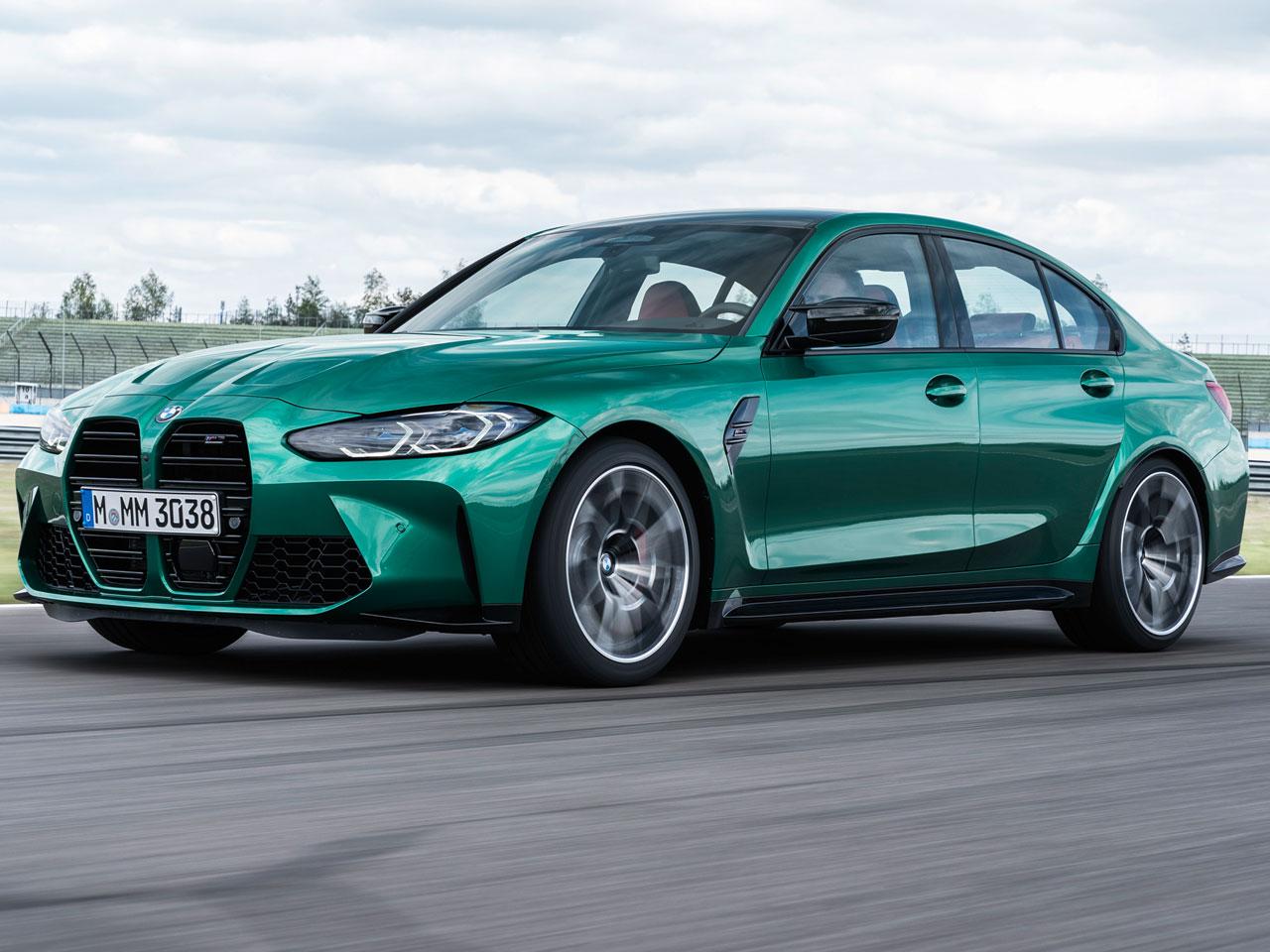 BMW M3 セダン 2021年モデル 新車画像