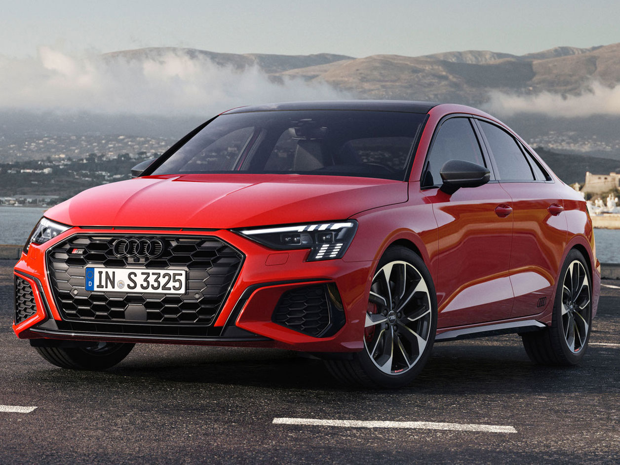 アウディ S3 セダン 2021年モデル 新車画像