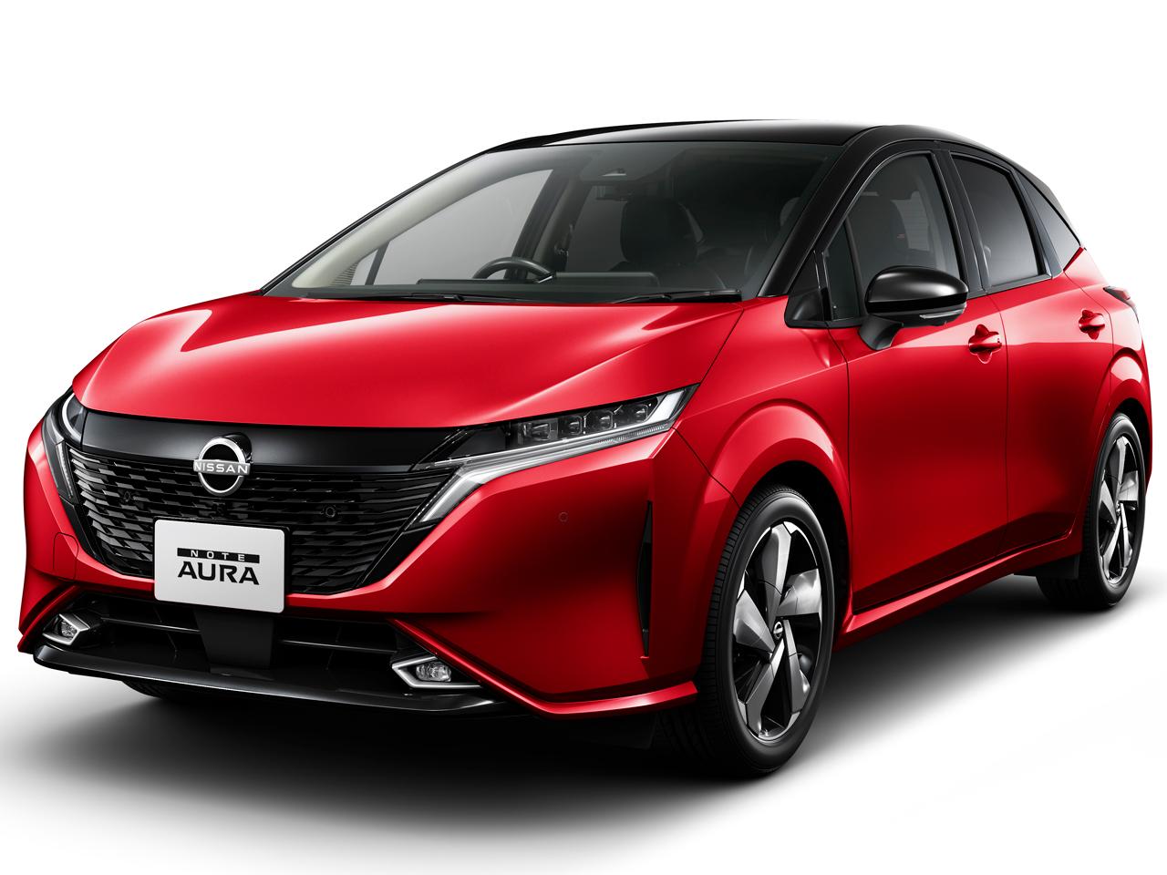 日産 オーラ 2021年モデル 新車画像