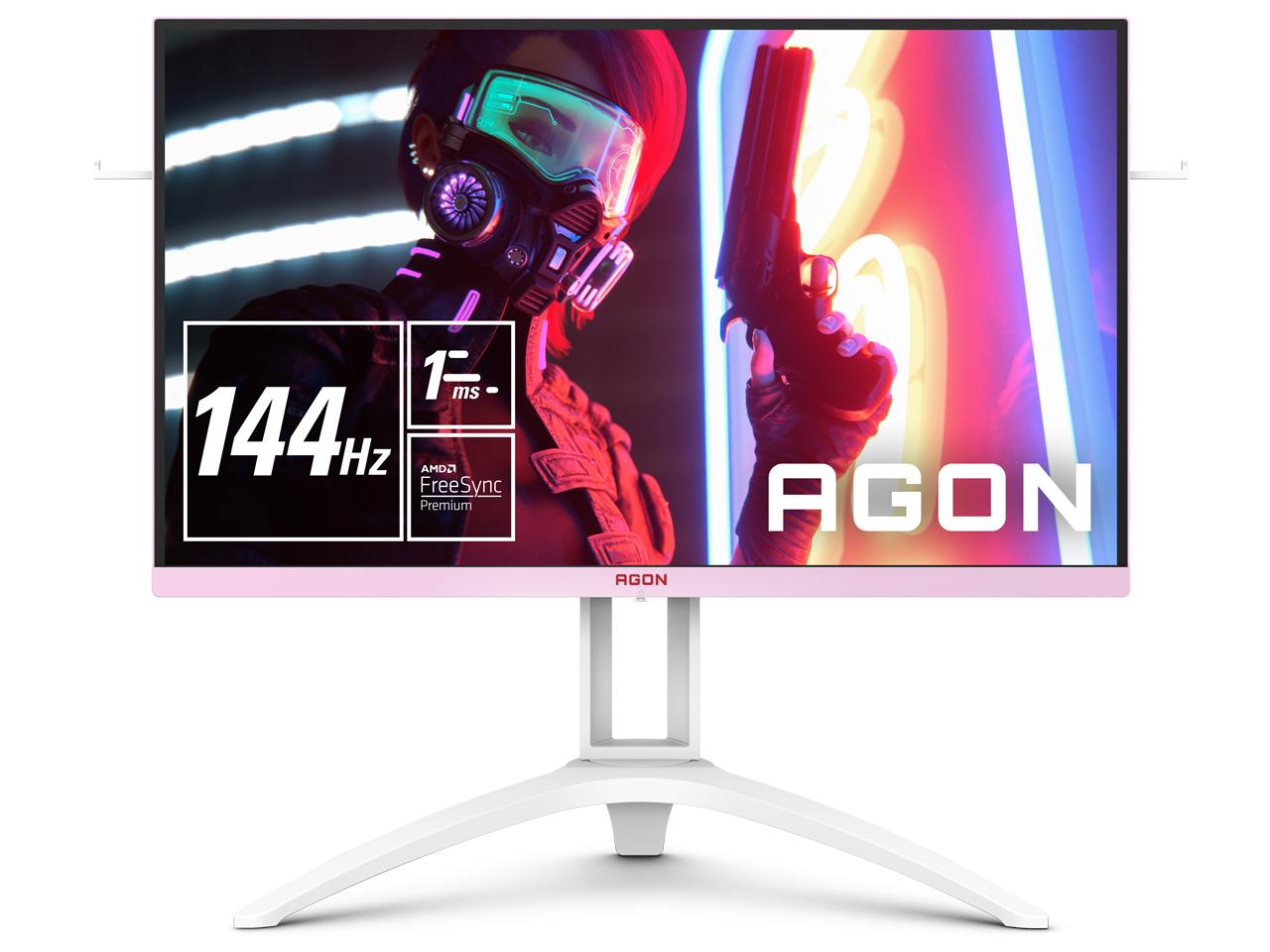 AGON AG273FXR/11 [27インチ ホワイト&ピンク] の製品画像