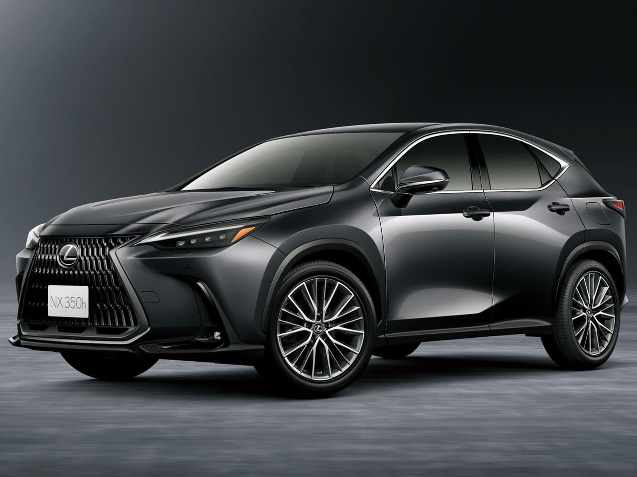 レクサス NX 2021年モデル 新車画像