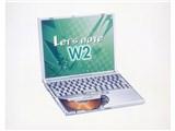 Let's NOTE W2 CF-W2EW6AXR 製品画像