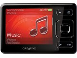 CREATIVE ZEN ZN-Z16G-BK ブラック (16GB) 製品画像