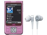 NW-A916 ピンク (4GB) 製品画像