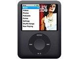 iPod nano MB261J/A ブラック (8GB) 製品画像