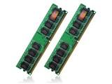 JM2GDDR2-8K (DDR2 PC2-6400 1GB 2枚組) 製品画像