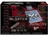 SBXFIFTY (Sound Blaster X-Fi Fatal1ty FPS) 製品画像