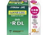 VD-R85CW10 (DVD-R DL 8倍速 10枚組)