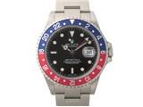 16710 GMTマスターII スポーツ 自動巻き(ブラックx赤青) 製品画像