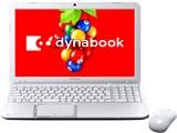 dynabook T552 T552/36G 2012年秋冬モデル 製品画像
