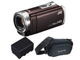 JVC Everio GZ-E400KC + 長時間バッテリーBN-VG119 + Everioオリジナルバッグ 価格.com限定モデル