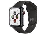 Apple Watch Series 5 GPS+Cellularモデル 44mm ステンレススチールケース/スポーツバンド 製品画像