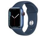 Apple Watch Series 7 GPS+Cellularモデル 41mm スポーツバンド