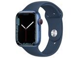 Apple Watch Series 7 GPS+Cellularモデル 45mm スポーツバンド