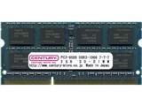 CENTURY MICRO CK2GX2-SOD3U1066 (SODIMM DDR3 PC3-8500 2GB 2枚組)