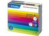 Verbatim DHR47JP10V1 (DVD-R 16倍速 10枚組) 製品画像
