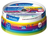 Verbatim DHR85HP25V1 (DVD-R DL 8倍速 25枚組) 製品画像
