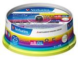 Verbatim DTR85HP25V1 (DVD+R DL 8倍速 25枚組)