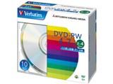 Verbatim DHW47Y10V1 (DVD-RW 4倍速 10枚組) 製品画像