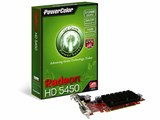 PowerColor Go! Green HD5450 512MB DDR2 DP (Eyefinity Edition) (PCIExp 512MB)