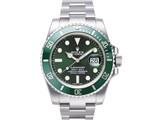 サブマリーナデイト 116610LV(グリーン) 製品画像