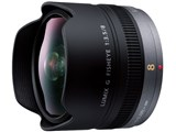 LUMIX G FISHEYE 8mm/F3.5 H-F008 製品画像