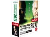 Kaspersky Internet Security 2011 1年3台版 製品画像