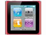 iPod nano (PRODUCT) RED MC693J/A [8GB レッド] 製品画像
