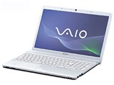 VAIO Eシリーズ VPCEB39FJ/W [ホワイト] 製品画像