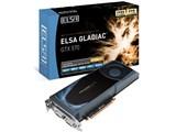 ELSA GLADIAC GTX 570 1.2GB [PCIExp 1280MB]