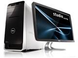 Studio XPS 8100 プレミアムモニタセット パッケージ 製品画像