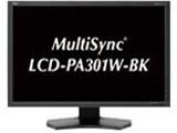 MultiSync LCD-PA301W-BK [29.8インチ ブラック]
