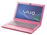 VAIO Sシリーズ VPCSB18FJ/P [ピンク] 製品画像