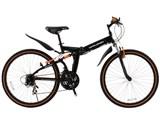 DOPPELGANGER 702 blackguards 21段変速モデル [ジェットブラック/フラッシュオレンジ] 製品画像