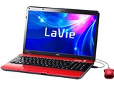 LaVie S LS550/ES6R PC-LS550ES6R [ルミナスレッド]
