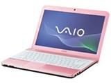 VAIO Eシリーズ VPCEG14FJ/P [ピンク]