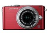 OLYMPUS PEN Lite E-PL3 ボディ [レッド] 製品画像