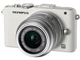 OLYMPUS PEN Lite E-PL3 ダブルズームキット [ホワイト]