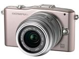 OLYMPUS PEN mini E-PM1 ツインレンズキット [ピンク] 製品画像