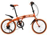 DOPPELGANGER 212 tangerine 7段変速モデル [タンジェリンオレンジ] 製品画像
